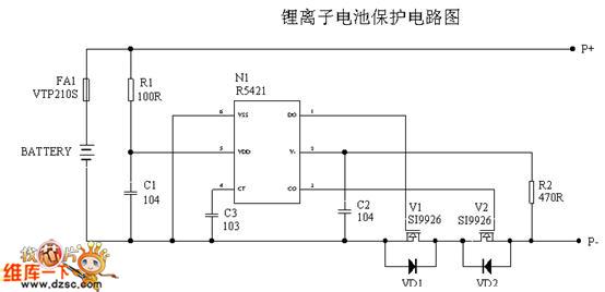锂离子电池的特性与其它可充电电池不同,内部通常都带有一块电路板,不