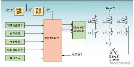 48v窜励电机接线图