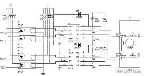 首页 新能源汽车 纯电动汽车 正文    驱动电路如图3-2所示,两个ir