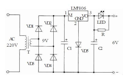 图1 充电器电路图