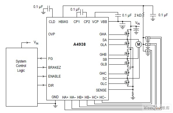 a4938:三相无刷直流电动机预驱动器_全球新能源汽车网
