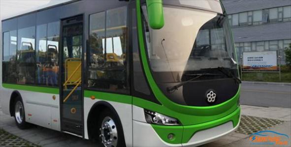 力电器拟收购的珠海银隆新能源汽车所生产的纯电动公交汽车-董明珠高清图片