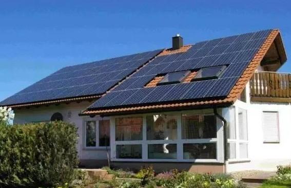 不同别墅时候,安装光伏类型屋顶注意事项不同!出租信息系统兴城图片