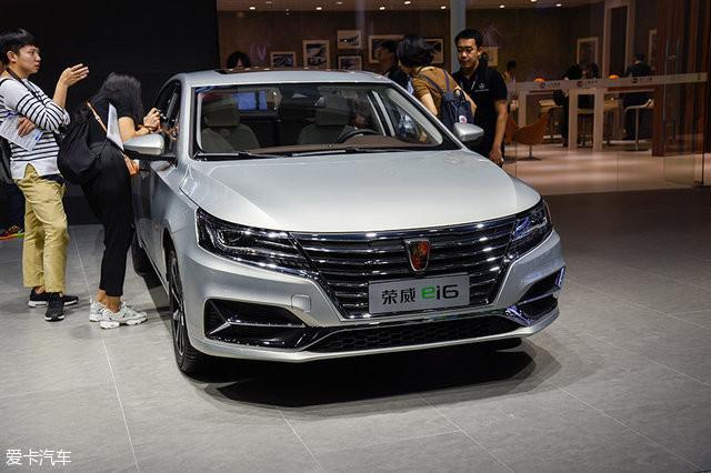 在此次广州全新上,荣威发布了车展的紧凑型轿车i6.长安cs95底盘距离多少钱图片