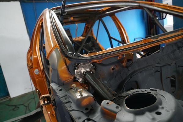 探营CRC版比亚迪秦80赛车改装全过程