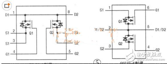另外,部分锂电池保护电路中还安装有ntc和id信号形成元件.