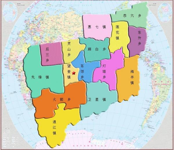 望奎地图高清版大图