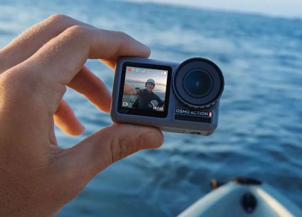 中国大疆运动相机VS美国GoPro
